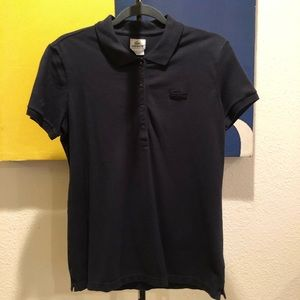 LACOSTE- 4 SNAP, SLIM FIT POLO